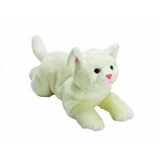 Suki YOMIKO Plyšová bílá kočka střední