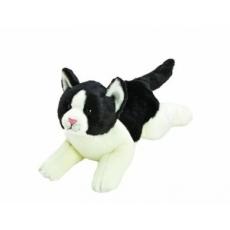 Suki YOMIKO Plyšová černo - bílá kočka střední
