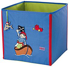 Sigikid Úložný box na hračky pirát Sammy Samoa