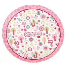 Sigikid Melaminový talíř pro děti parádnice Curly Girlies