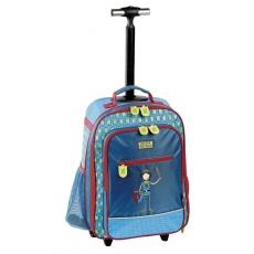 Sigikid Cestovní kufr/školní kufr rytíř Ritter Rettich 2014
