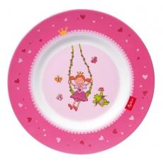 Sigikid Melaminový talíř pro děti princezna Pinky Queeny