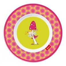 Sigikid Melaminový talíř pro děti víla Florentine