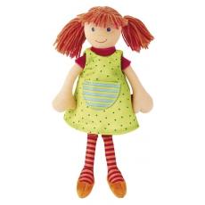 Sigikid Látková panenka Sigi Dolly s rezavými vlásky