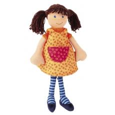 Sigikid Látková panenka Sigi Dolly s hnědými vlásky