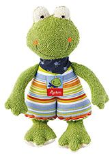 Sigikid Mazlík na spaní žabka Fortis Frog