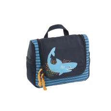 Lässig Taška na hygienické potřeby Mini Washbag Shark ocean