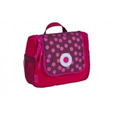 Lässig Taška na hygienické potřeby Mini Washbag Dottie red