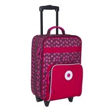 Lässig Dětský kufr na kolečkách Dottie red