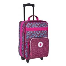 Lässig Dětský kufr na kolečkách Blossy pink