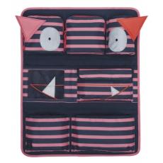 Lässig Dětský kapsář Car Wrap-to-Go Little Monsters Mad Mabel