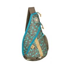 Lässig Křížový dětský batoh Mini Sling Bag Dino slate