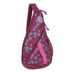 Lässig Křížový dětský batoh Mini Sling Bag Blossy Pink