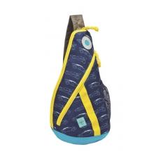 Lässig Křížový dětský batoh Mini Sling Bag Cars navy