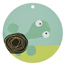 Lässig Silikonové dětské prostírání Wildlife Turtle