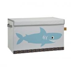 Lässig Uzavíratelný box - bedna na hračky Shark ocean