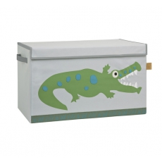 Lässig Uzavíratelný box - bedna na hračky Crocodile Granny