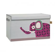 Lässig Uzavíratelný box - bedna na hračky Wildlife Elephant