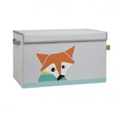 Lässig Uzavíratelný box - bedna na hračky Little Tree Fox