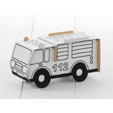 Calafant Kartonový model k vymalování Hasičské auto