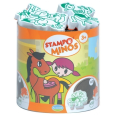 Aladine Razítka StampoMinos Koně a koňská farma