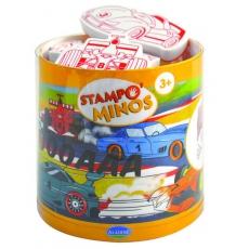 Aladine Razítka StampoMinos Závodní auta