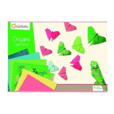 Avenue mandarine Sada na origami 1