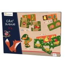 Avenue mandarine Sada her pro děti od 4 let - pexeso, domino, puzzle
