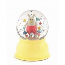 Djeco Dětské noční světlo a sněžítko Bílý králíček
