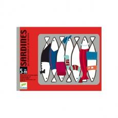 Djeco Postřehová karetní hra Sardinky