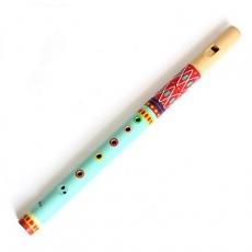 Djeco Dřevěná flétna malovaná
