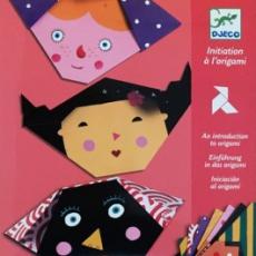 Djeco Origami - Obličeje