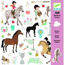 Djeco Samolepky Koně a koníci