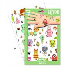 Dětské tetování Malé příšerky