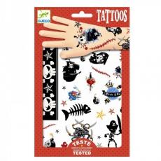 Dětské tetování Piráti