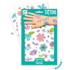 Dětské tetování Květiny