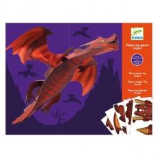 Djeco Origami - skládačka Velký drak