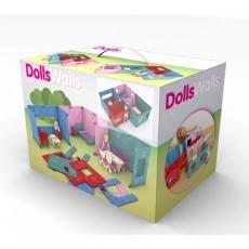 Dollswalls Domeček pro panenky Maxi Dreamhouse s nábytkem