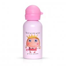Label tour Nerezová láhev pro děti Princezna