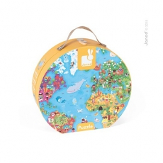 Janod Giant Puzzle Mapa světa