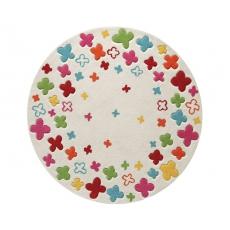 Esprit Dětský koberec Bloom Filed krémová ESP-2980-01