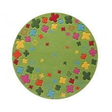Esprit Dětský koberec Bloom Filed zelená ESP-2980-02