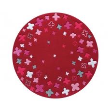 Esprit Dětský koberec Bloom Filed červená ESP-2980-04