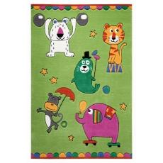Smart kids Dětský koberec Littel Artists zelená 3 SM-3981-03