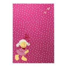 Sigikid Dětský koberec ovečka Schnuggi 2 SK-0524-03 růžový
