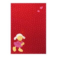 Sigikid Dětský koberec ovečka Schnuggi 2 SK-0524-05 červený