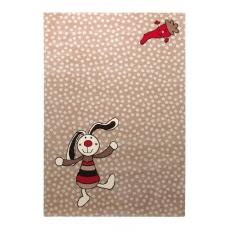 Sigikid Dětský koberec Rainbow Rabbit 3 SK-0523-04 hnědý