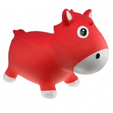 Kidzz farm Skákadlo - hopsadlo koník Harry červený