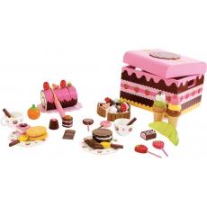 Legler Velký dřevěný box cukrárna