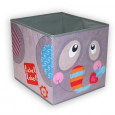 Label-label Úložný box na hračky Slon